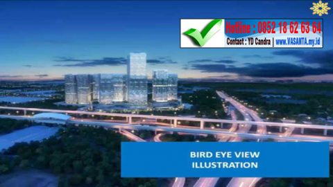 vasanta bird eye view illustration