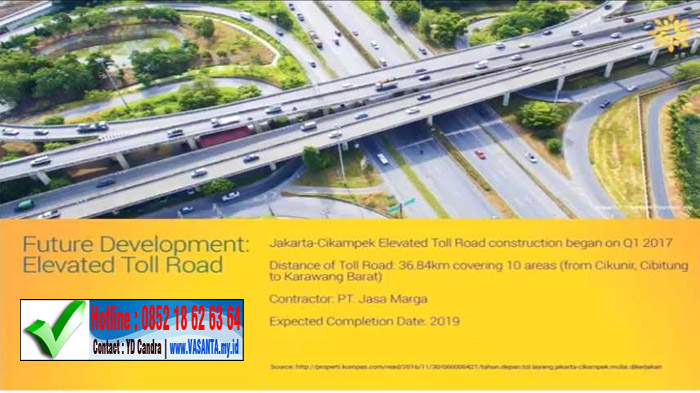 vasanta future development elevated toll road