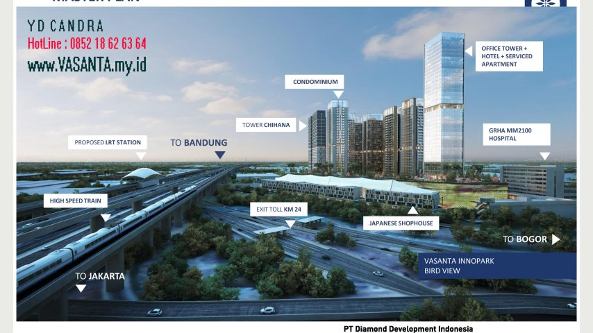 VASANTA Tower Chihana Masterplan