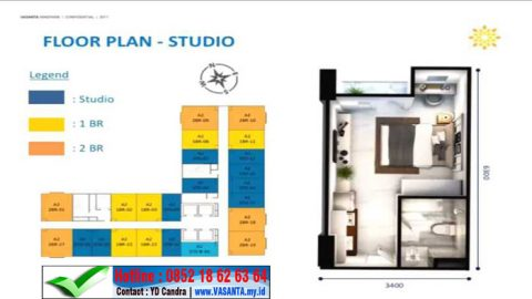 vasanta floor plan studio